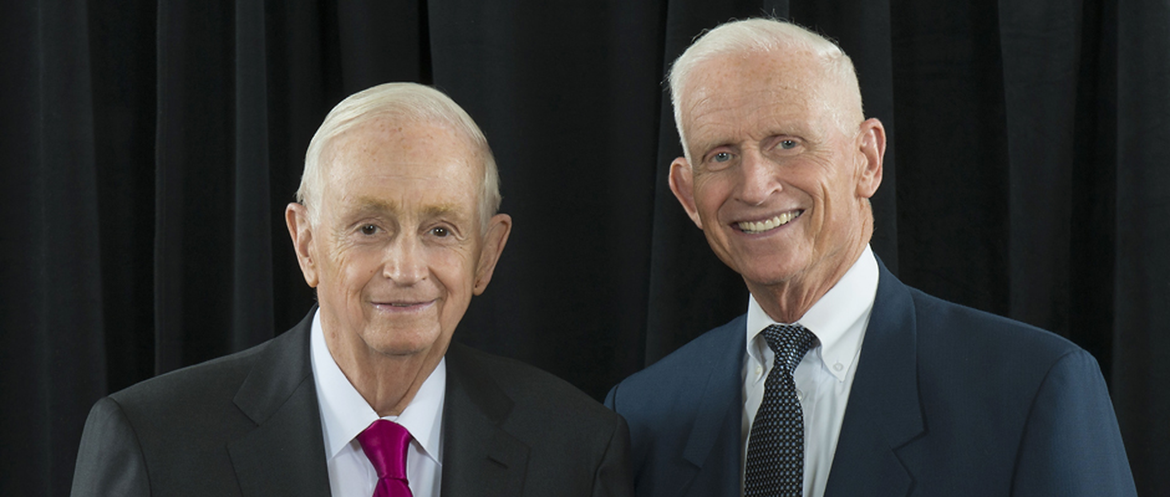 Bill and Dick Marriott
